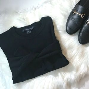 French Connection Soft Cozy Oversize Black Sweater